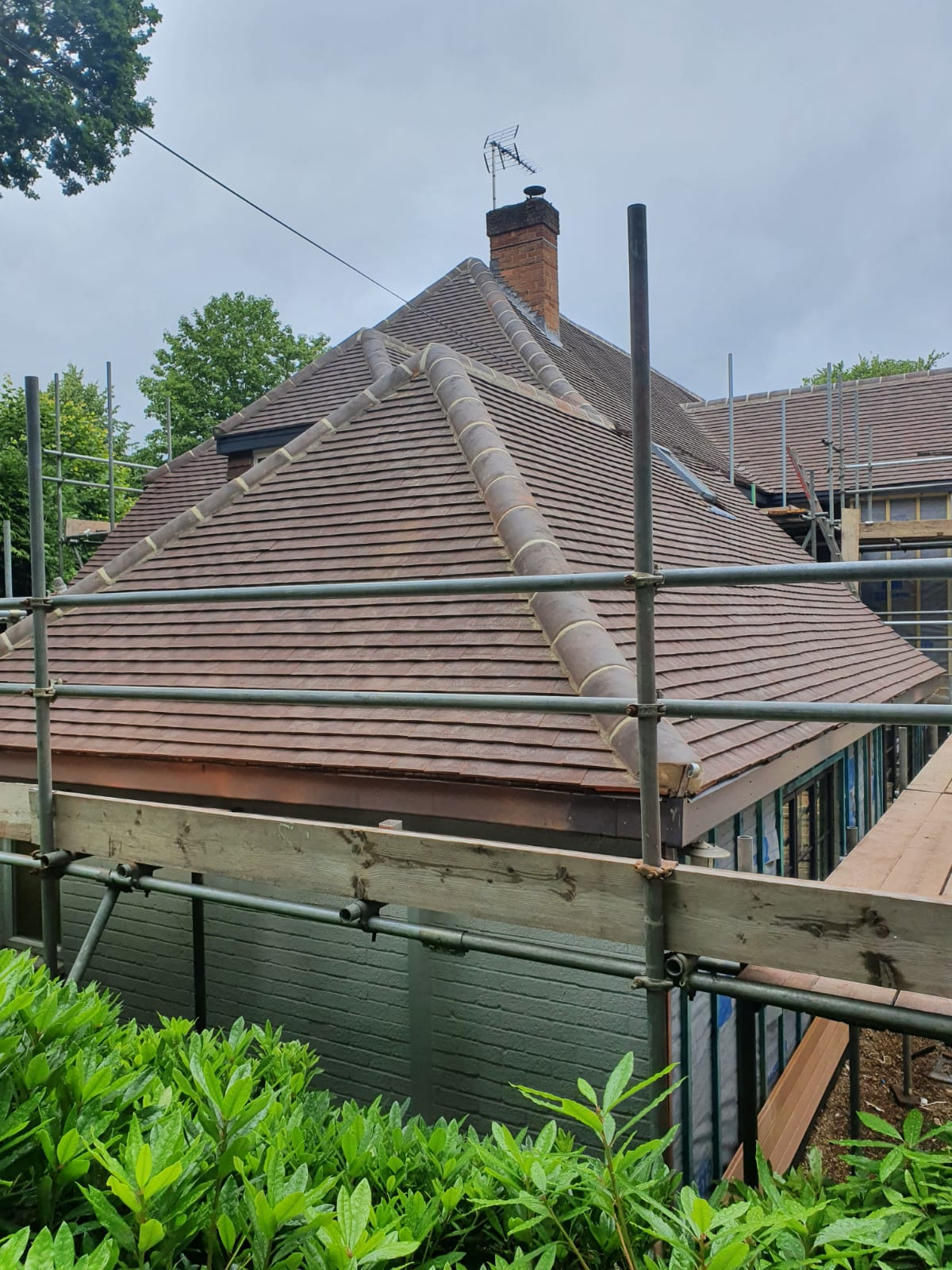 Domestic re-roof- roofing services Binfield